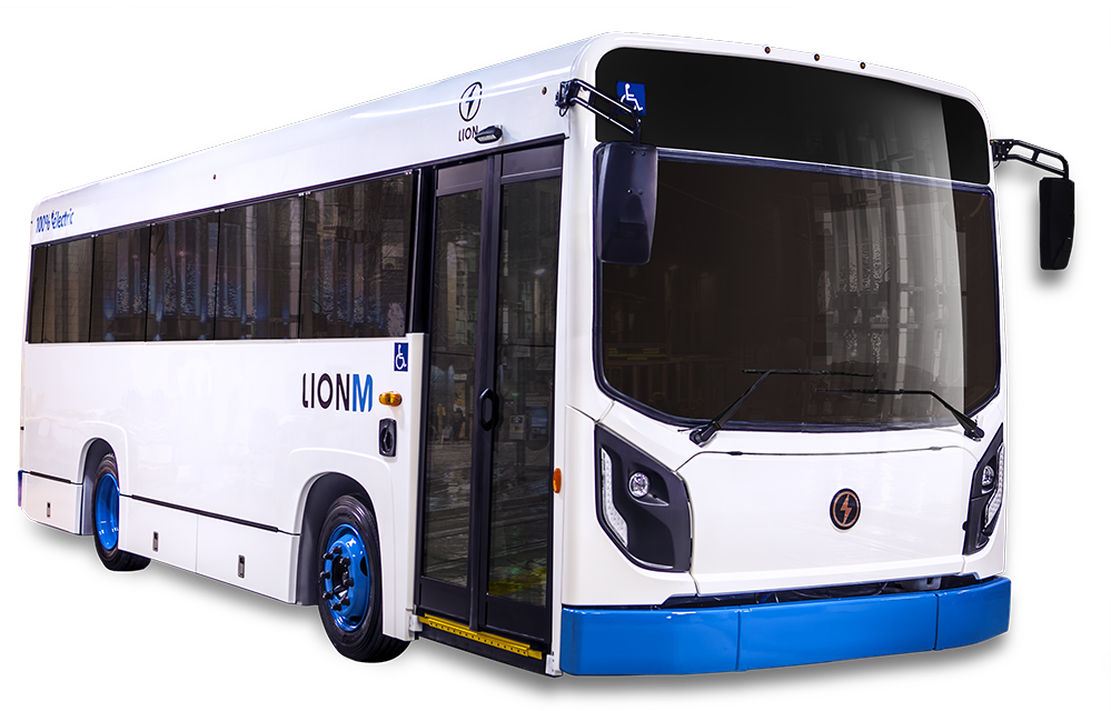 LionM - All-Electric, Zero-Emission EV Minibus | Lion Electric